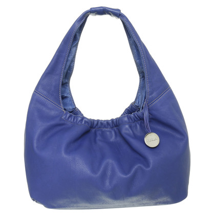 Furla Borsa di tornitura in Blu Royal