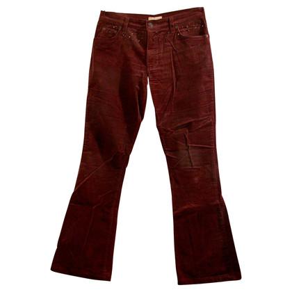 Blumarine pantalone marrone