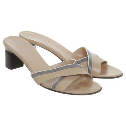Bally Mules beige
