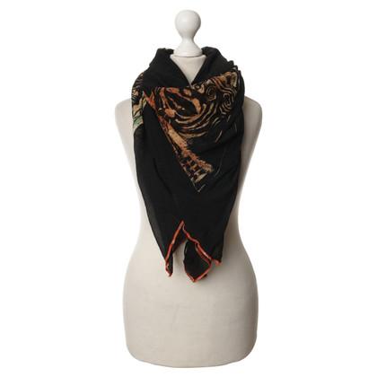 Jean Paul Gaultier Panno di tessuto di maglia XXL