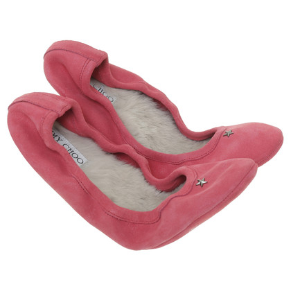 Jimmy Choo Slippers with real fur