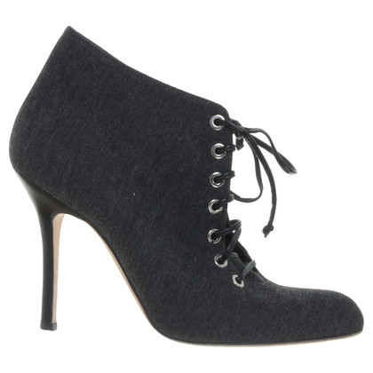 Manolo Blahnik Ankle boots with lacing