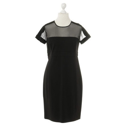 DKNY Dress with mesh detail