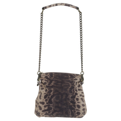 Marc Cain Animal-look shoulder bag