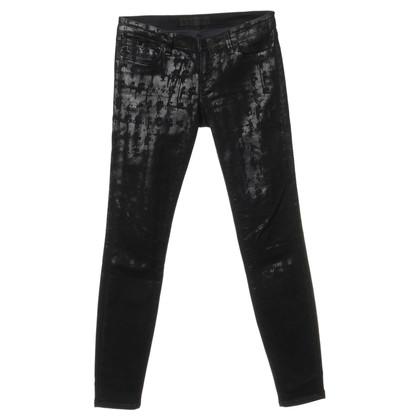 Karl Lagerfeld Jeans met glanzende ontwerpen