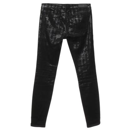 Karl Lagerfeld Jeans mit glänzenden Motiven
