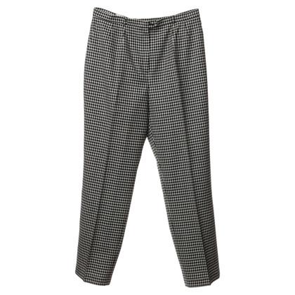Basler Pantaloni con il reticolo
