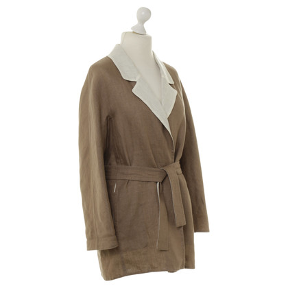 Hermès Coat made of linen