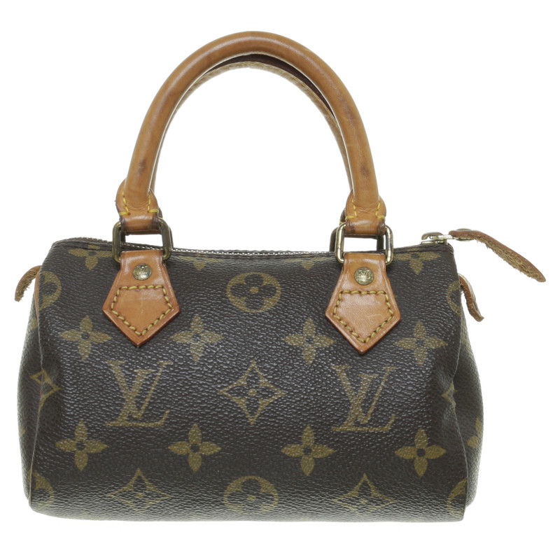 louis vuitton kleine henkeltasche in monogram canvas second hand louis vuitton kleine. Black Bedroom Furniture Sets. Home Design Ideas