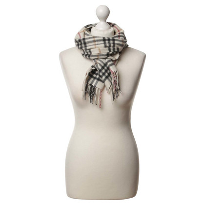 Burberry Scarf with checked pattern