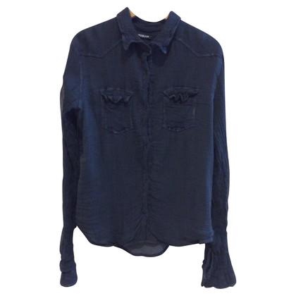 Balmain Zijde shirt