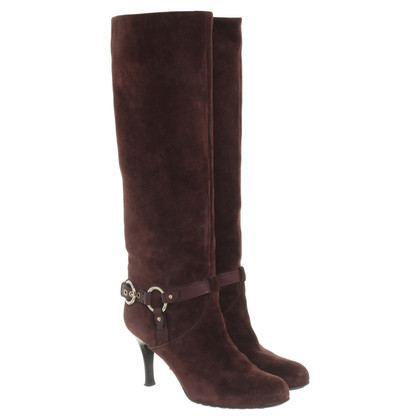 Bally Boots suede