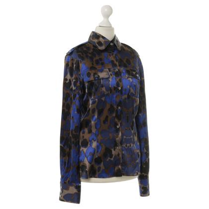 Roberto Cavalli Satin blouse