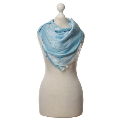 Escada Scarf in blue
