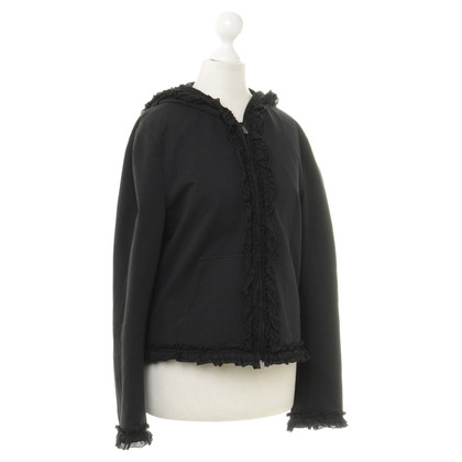Moschino Cheap and Chic Kapuzenjacke mit Rüschen