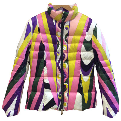 Emilio Pucci Colorful ski jacket