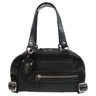 0021e56b43 ... Prada Tote with crocodile leather - facings premium selection e1965  7f922 ...