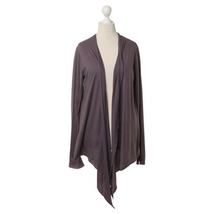 Velvet Jacket purple
