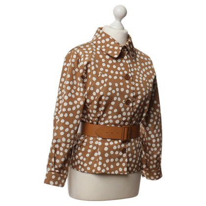 Christian Dior Silk jacket with belt
