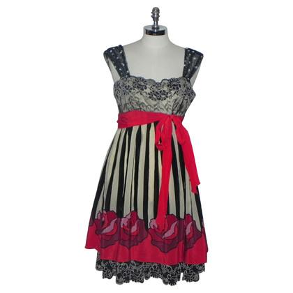 Anna Sui Zijden jurk