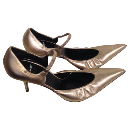 Pierre Hardy Golden pumps