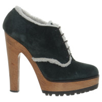 Dolce & Gabbana Plateau ankle boots suede