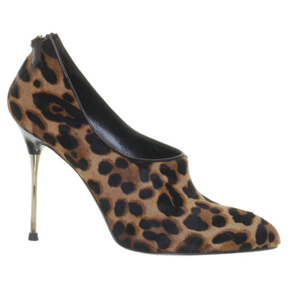 Brian Atwood Pumps with real fur
