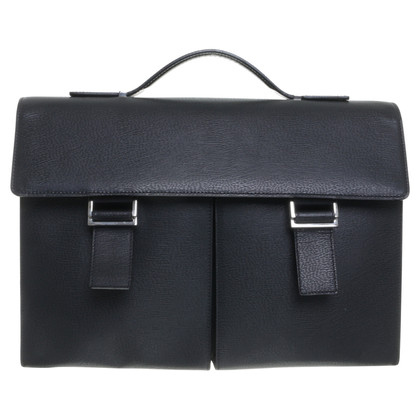 Other Designer DuPont - textured leather Briefcase