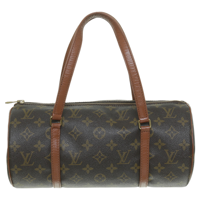 louis vuitton henkeltasche papillon aus monogram canvas second hand louis vuitton. Black Bedroom Furniture Sets. Home Design Ideas