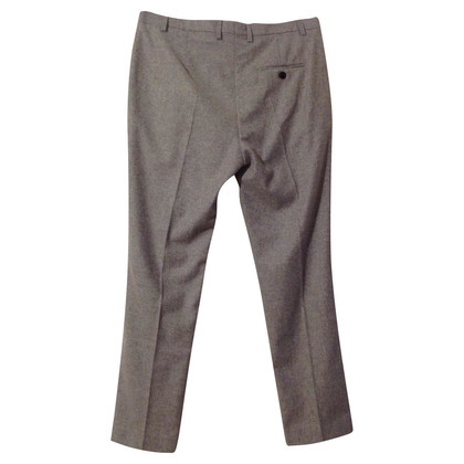 René Lezard Pantaloni di lana grigia