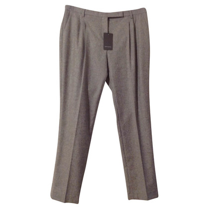 René Lezard Grey wool pants