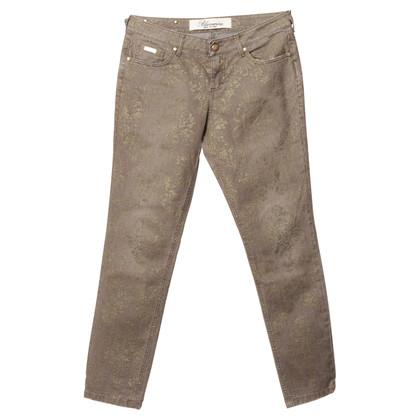 Blumarine Jeans con stampa glitter
