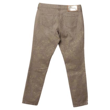 Blumarine Jeans with glitter-print