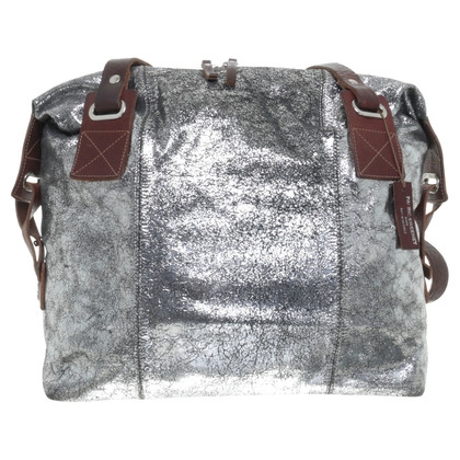 Other Designer Pauric Sweeney - Silver metallic shoulder bag
