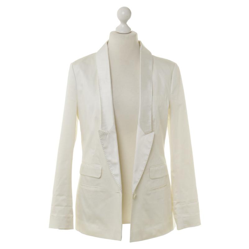 drykorn blazer in off white second hand drykorn blazer. Black Bedroom Furniture Sets. Home Design Ideas