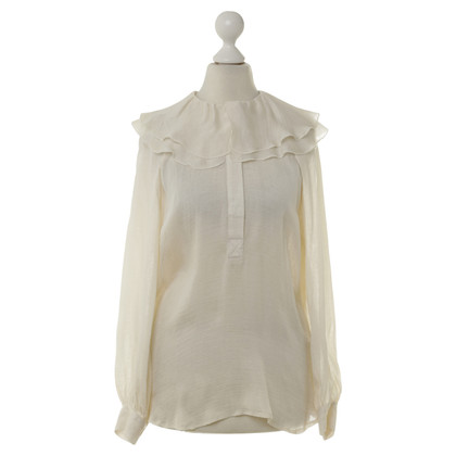 Graham & Spencer Seidenbluse in Creme