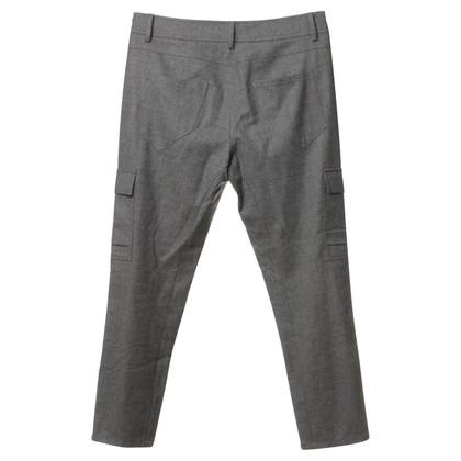 Brunello Cucinelli I titolari grigio pantaloni di lana