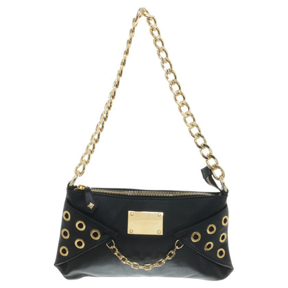 Pierre Balmain Shoulder bag with grommets decoration