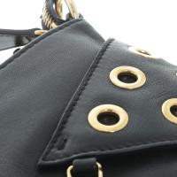 Pierre Balmain Shoulder bag with grommets decoration