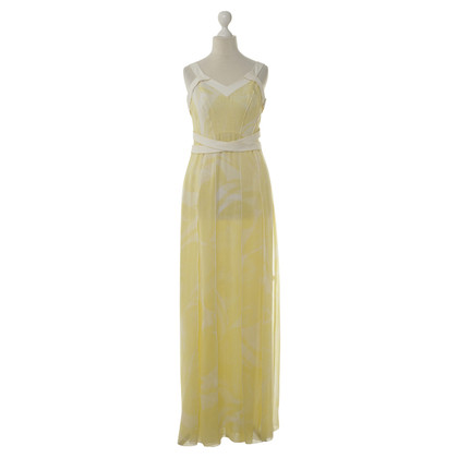 Rena Lange Silk dress in yellow