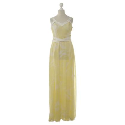 Rena Lange zijden jurk in het geel
