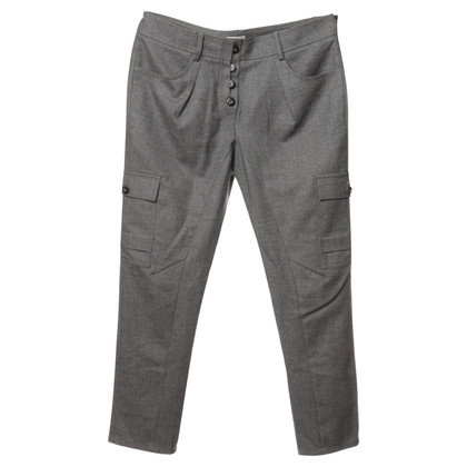 Brunello Cucinelli Holders gray wool pants