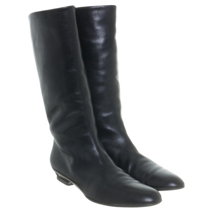 Helmut Lang Boots in black