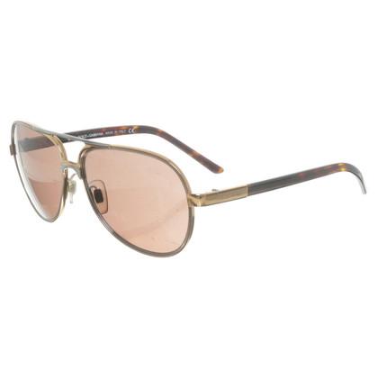 Dolce & Gabbana Sonnenbrille im Piloten-Look