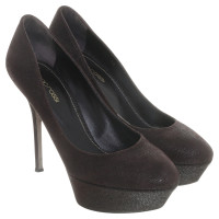 Sergio Rossi Pumps textured leather