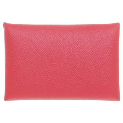 Herms business card holder in red second hand herms business herms business card holder in red colourmoves