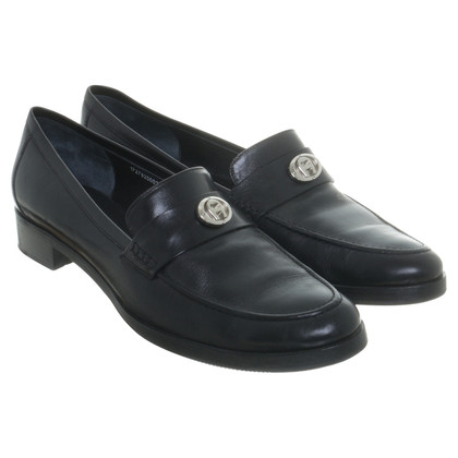 Aigner Slipper in Schwarz