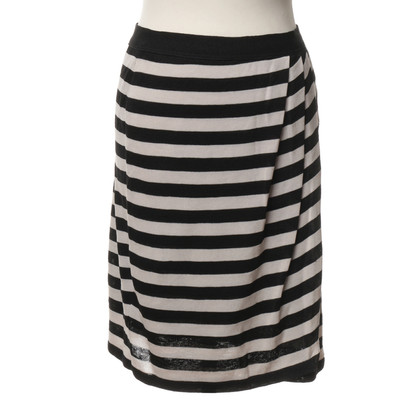 Marc Cain Knit skirt with stripes