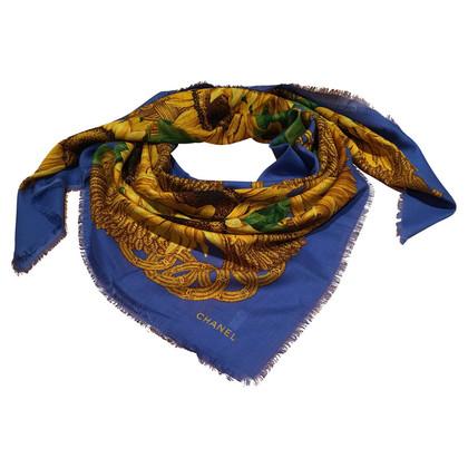Chanel  sjaal met wol & zijde