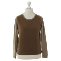 Rochas Pullover in marrone e beige